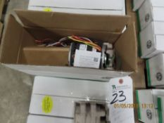 (Lot) US Motors mod. 8905, 3/4hp Blower Direct Drives (10 Boxes)