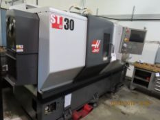 (2011) Haas mod. ST-30, 12-Station CNC Turning Center w/ 3-Jaw Chuck, Tail Stock, 3200 RPM Chip