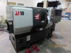 (2011) Haas mod. ST-10, 12-Station CNC Turning Center w/ 5C-Bull Nose, Tail Stock, 6000 RPM, 2-