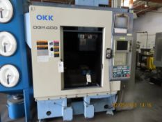 (2006) OKK mod. DGM400, Vertical CNC Machine Center w/ Neomatic 635 Controls, 3-Axis, 10hp, 24