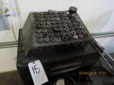 (Lot) 5C & R8 Collets, Drills, End Mills w/ Tool Box