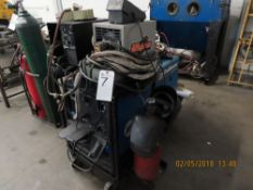 Miller mod. Trailblazer 203, Gas Tig Welder/Generator w/ Miller HP-251D-1 Arc Starter, Weld Tec.