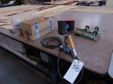 Kuper Type K3 Hand Type Splicer w/ 120'' x 120'' Steel Top Layout Table