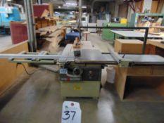 SCMi mod. S112, 12'' Table Saw w/ CPS Fence w/ Blades