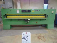 (1989) Josting Type EFS-3200, 127'' Programmable Guillotine w/ Josting Controls, Safety Eye Beam