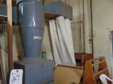 Torit 7 1/2hp Cyclone Dust Collector w/ (4) Bags S/N C-5923