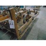 30'' x 42'' Lumber/Furniture Carts w/ Die Cast Coaster Wheels