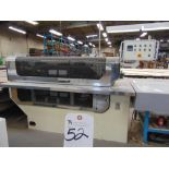 (1999) Kuper Type FCI Mach. No. 3908/0113 Veneer Splicing Machine w/ 54'' x 102''L Light Table; S/