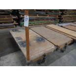 36'' x 72'' Lumber/Furniture Carts w/ Die Cast Caster Wheels