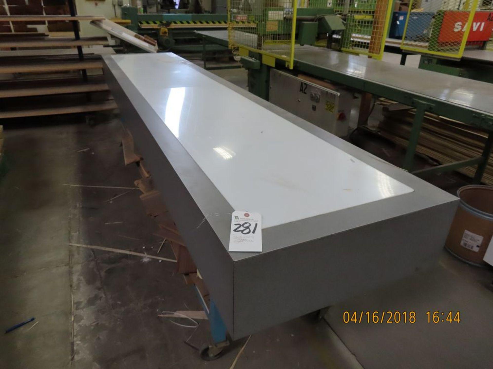 Portable Light Table, 30'' x 144''L