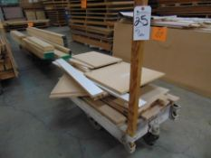 30'' x 42'' Lumber/Furniture Carts w/ Die Cast Coaster Wheels (Carts Only)
