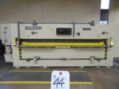 (2000) Kuper System Josting Type ZFS-3200 Guillotine 132'' Blade Size, 149'' Opening, w/ Prog. Ferro