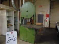 Oliver Mach. # 116-D, 35'' Vertical Band Saw S/N 63075