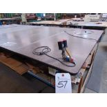 Kuper Hand Type Splicer w/ 120'' x 120'' Steep Top Layout Table