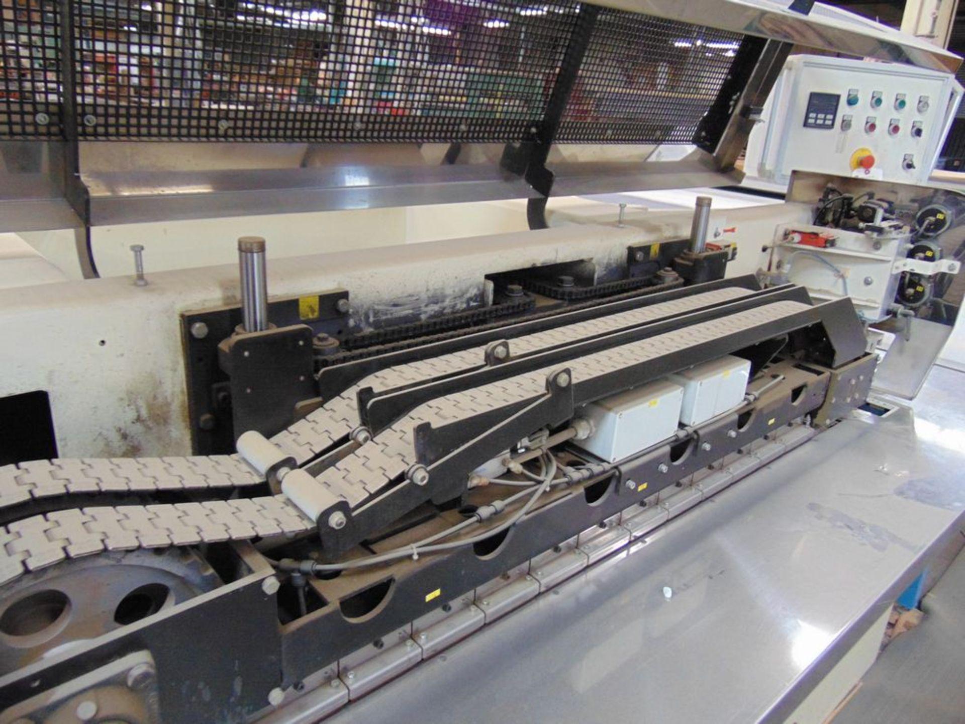 (1999) Kuper Type FCI Mach. No. 3908/0113 Veneer Splicing Machine w/ 54'' x 102''L Light Table; S/ - Image 6 of 7