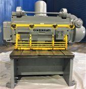 Cincinnati Power Shear 1/2'' x 4' . LOADING FEE FOR THIS LOT: $350