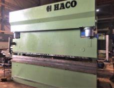 Haco CNC Hydraulic Press Brake 300 Ton x 12'