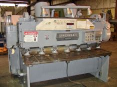 Cincinnati Power Shear 3/16'' x 6'. LOADING FEE FOR THIS LOT: $500