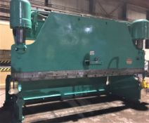 Pacific Hydraulic Brake Press 225 Ton x 14'