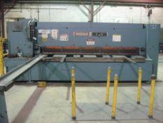 Niagara Hydraulic Power Shear 1/2'' x 10'. LOADING FEE FOR THIS LOT: $500