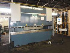 Durma CNC 3 Axis Hydraulic Press Brake 99 Ton x 10'