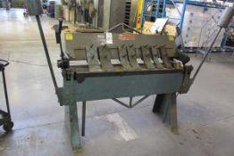 Roper Whitney Hand Box & Pan Brake 14 Ga. x 4'