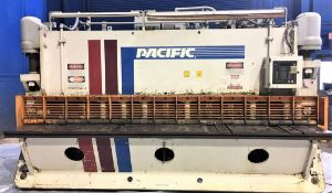 Pacific Hydraulic Plate Shear 1/2'' x 12'. LOADING FEE FOR THIS LOT: $500