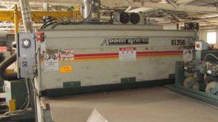 Accurshear Hydraulic Power Shear 14 Ga. x 6'. LOADING FEE FOR THIS LOT: $500