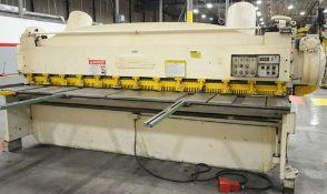 Cincinnati Power Shear 1/4'' x 12'. LOADING FEE FOR THIS LOT: $500