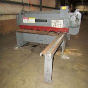 Cincinnati Power Shear 10 Ga. x 6'. LOADING FEE FOR THIS LOT: $500