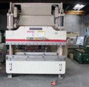 Cincinnati CNC Hydraulic Press Brake 90 Ton x 8'. LOADING FEE FOR THIS LOT: $950