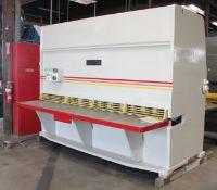 Accurshear Hydraulic Power Shear | 1/2'' x 10'. LOADING FEE FOR THIS LOT: $1800