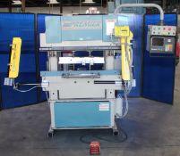 Premier CNC 2 Axis Hydraulic Press Brake 25 Ton x 4'. LOADING FEE FOR THIS LOT: $325
