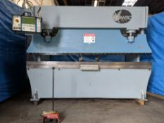 Atlantic CNC 3 Axis Hydraulic Press Brake 135 Ton x 10'. LOADING FEE FOR THIS LOT: $950