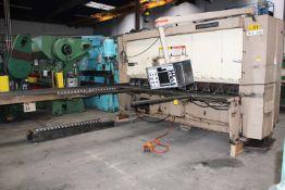 Cincinnati Hydraulic CNC Power Shear 3/8'' x 10'. LOADING FEE FOR THIS LOT: $1400