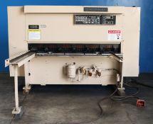 Cincinnati Hydraulic Power Shear 10 Ga. x 6'. LOADING FEE FOR THIS LOT: $650