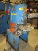 Neff Hydraulic C Frame Rotary Table Press 7 Ton x 20''. LOADING FEE FOR THIS LOT: $200