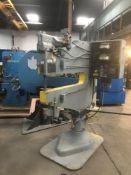 Chicago Pneumatic Hot Dimpling Machine 24,000 Lbs. x 36'' x 800 Degrees.