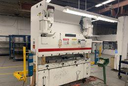 Cincinnati 2 Axis CNC Hydraulic Press Brake 90 Ton x 8'. LOADING FEE FOR THIS LOT: $950