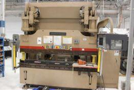 Cincinnati 6 Axis CNC Hydraulic Press Brake 90 Ton x 8'. LOADING FEE FOR THIS LOT: $950