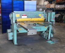 Wysong Power Shear | 10 Ga x 4'. LOADING FEE FOR THIS LOT: $400