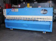 Atlantic Hydraulic Power Shear 1/4'' x 10'. LOADING FEE FOR THIS LOT: $900