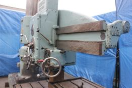 American Radial Arm Drill 6' x 15''. LOADING FEE FOR THIS LOT: $800