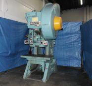 Minster Model 6 OBI High Speed Flywheel Punch Press Variable Speed 60 Ton