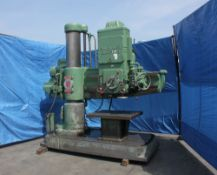 Cincinnati Bickford Radial Arm Drill. LOADING FEE FOR THIS LOT: $600