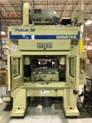 Minster Pulsar 30 High Speed Double Crank Press 30 Ton x 30'' x 21'' (Located in Painesville, OH)