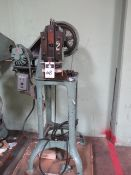 M.D. Knowlton Punch Press 5 Ton. LOADING FEE FOR THIS LOT: $75