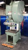Minster Gap Frame Single Crank Punch Press 60 Ton x 32'' x 21''. LOADING FEE FOR THIS LOT: $600