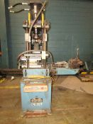Tishken Cut Off Press 15 Ton. LOADING FEE FOR THIS LOT: $250