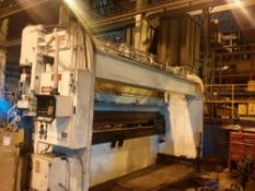 Pacific CNC 2 Axis Hydraulic Press Brake 300 Ton x 20' (Located in Painesville, OH -- Lot #1021)